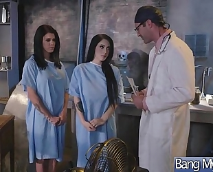 (noelle easton & peta jensen) hawt patient come at doctor and acquire hardcore group-sex clip-23