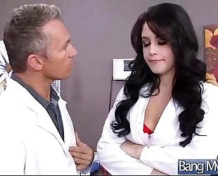 Hard sex in doctor office with lewd patient (noelle easton) vid-25