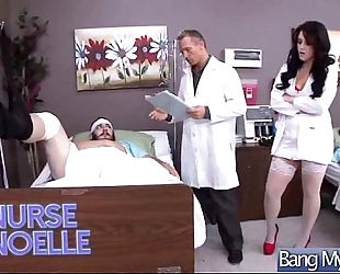 Sex betwixt doctor and hawt doxy patient (noelle easton) clip-26