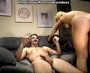 Nina hartley, mike horner in sassy blond is screwed in a retro xxx movie scene