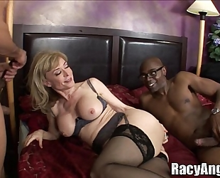 Interracial butt milfs alana evans, flower tucci, nina hartley, anjanette astori