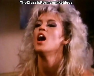Amber lynn, nina hartley, buck adams in vintage fuck episode