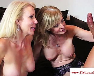 Nina hartley and erica lauren smack cum