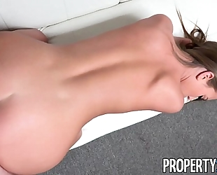 Propertysex - youthful real estate agent interviews for job at top agency
