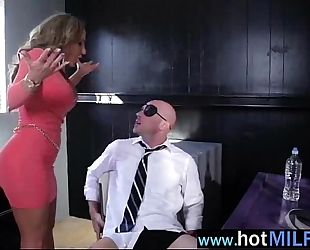 Hardcore group sex betwixt large 10-Pounder dude and older wife (richelle ryan) mov-28