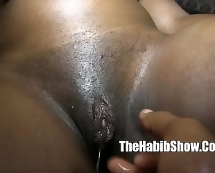 Sexy thick chocolate ambitious arse drilled by bbc king kreme p22
