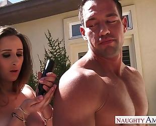 Sexual ashley adams drink spunk outdoors