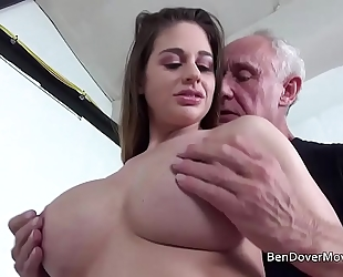 Cathy heaven fucking with granddad ben dover
