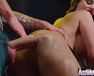 Hard unfathomable anal sex with large oiled gazoo cheating wife (cathy heaven) clip-12