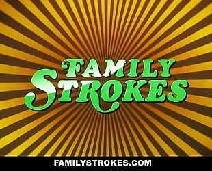 Familystrokes - curvy step daughter revenge copulates step daddy on fathers day