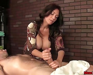 Sexy big-titted slutwife schlong treatment
