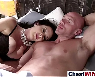 Hot sex act on tape with enchanting cheating amateur wife (jayden james) video-14