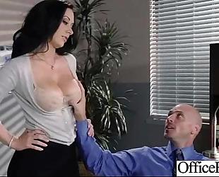 Busty office slutwife (jayden jaymes) acquire busy in hardcore sex scene clip-21