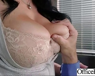 Hard style sex in office with large round bra buddies wife (jayden jaymes) mov-23