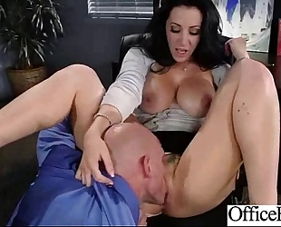 Hot housewife (jayden jaymes) large love muffins gangbanged hardcore in office vid-18