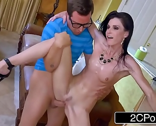 India summer teaches some youthful pecker