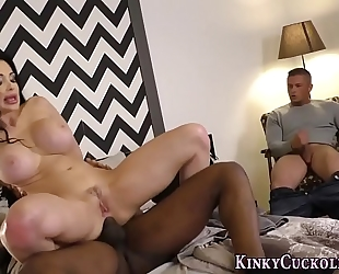 Dominas butt screwed by bbc