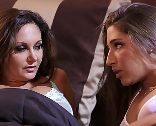 Abella danger and ava addams at mommy's white slut