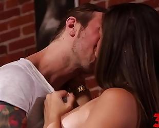 Abella danger licks it up