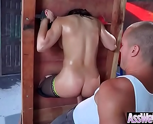 Sexy oiled big gazoo white wife (abella danger) have a joy hard anal sex video-2