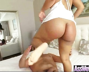 (rose monroe) hawt white women with big oiled a-hole take it deep in her behind mov-25