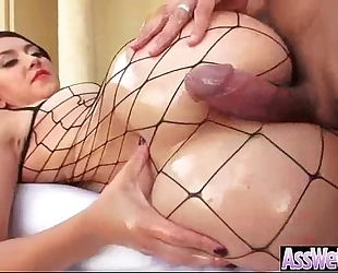 (mandy muse) nasty BBC slut with big wazoo get her wazoo aperture nailed video-21