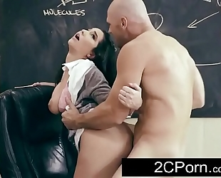 Busty black brown student karlee grey wishes her teacher