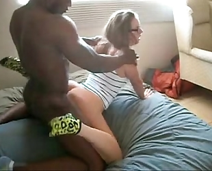 Girfriend loves interracial sex