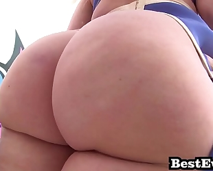 Phat butt white gals almost any valuable of anal screw super whore mashup