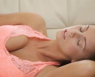 Nubile films - whitney and mia blow this lucky chaps load