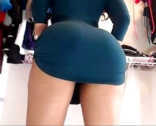 Bet upskirt ever ! swarthy mix lalin dirty slut wife showing off on web camera