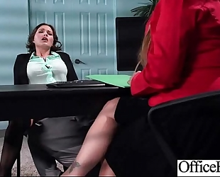 Sex tape in office with round big zeppelins dirty slut wife (krissy lynn) movie-20