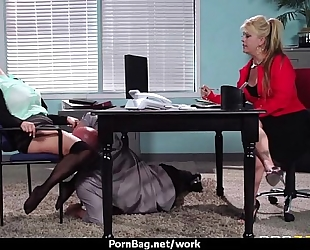 Busty working babes getting boned from behind 13