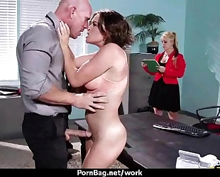 Office assistant getting drilled hard 3