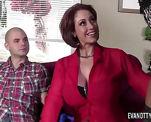 Maserati threesome with eva notty