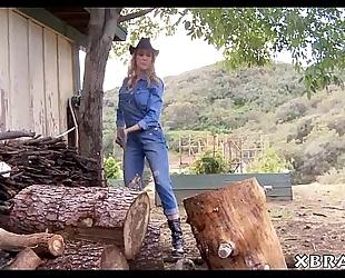 Mature milf brandi love outdoor oral-job and hawt fucking